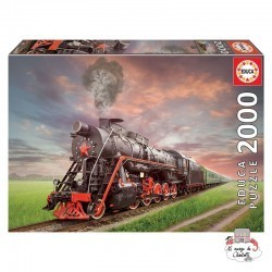 Steam Train - EDU-18503 - Educa Borras - 2000 pieces - Le Nuage de Charlotte