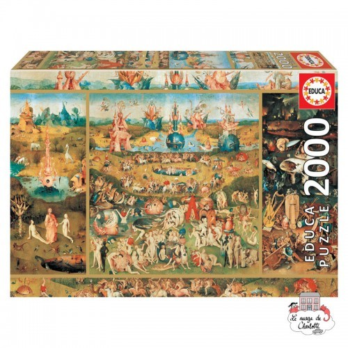 Garden of delights - EDU-18505 - Educa Borras - 2000 pieces - Le Nuage de Charlotte