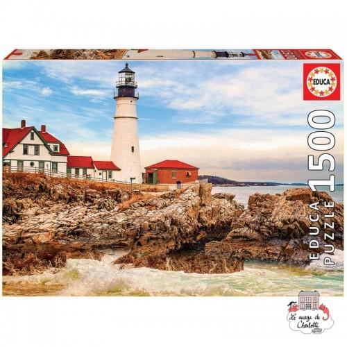 Rocky Lighthouse - EDU-17978 - Educa Borras - 1500 pieces - Le Nuage de Charlotte