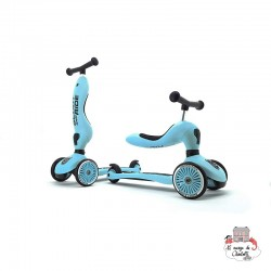 Highwaykick 1 - Blueberry - S&R-96352 - Scoot & Ride - Scooters - Le Nuage de Charlotte