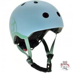 Helm S-M - Steel - S&R-96369 - Scoot & Ride - Helmets - Le Nuage de Charlotte