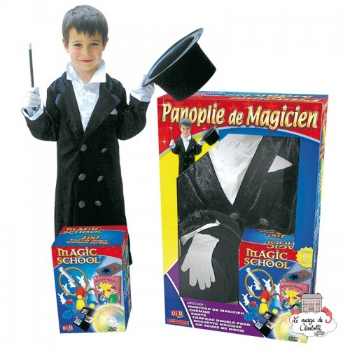 Megagic Magician set - OID-M108 - OID - Magic School - Le Nuage de Charlotte