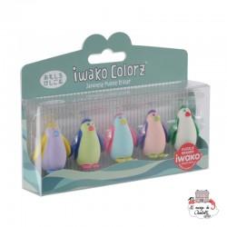 iwako Penguin Colorz - IWA-GLB009 - Iwako - Supplies - Le Nuage de Charlotte