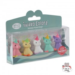 iwako Unicorn Colorz - IWA-GLB002 - Iwako - Supplies - Le Nuage de Charlotte