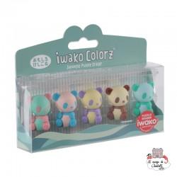 iwako Panda Colorz - IWA-GLB003 - Iwako - Supplies - Le Nuage de Charlotte