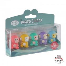 iwako Monkey Colorz - IWA-GLB005 - Iwako - Supplies - Le Nuage de Charlotte