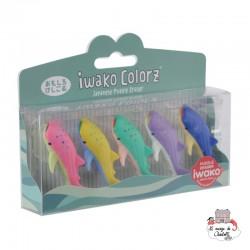 iwako Whale Shark Colorz - IWA-GLB006 - Iwako - Supplies - Le Nuage de Charlotte