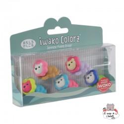 iwako Lion Colorz - IWA-GLB008 - Iwako - Supplies - Le Nuage de Charlotte