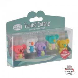 iwako Koala Colorz - IWA-GLB010 - Iwako - Supplies - Le Nuage de Charlotte