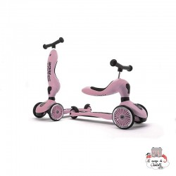 Highwaykick 1 - Pink - S&R-96270 - Scoot & Ride - Scooters - Le Nuage de Charlotte