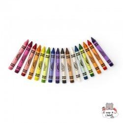 16 Triangular Crayons - CRA-52-016T - Crayola - Supplies - Le Nuage de Charlotte