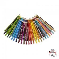 50 colored pencils - CRA-68-4050 - Crayola - Supplies - Le Nuage de Charlotte