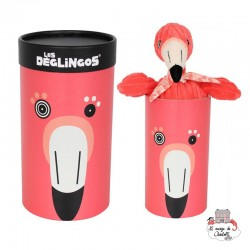 Big Simply Flamingos le flamingo - DEG-33125 - Les Déglingos - Les Déglingos - Le Nuage de Charlotte