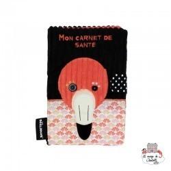 Health book cover Flamingos the flamingo - DEG-31525 - Les Déglingos - Mother Child Book Covers - Le Nuage de Charlotte