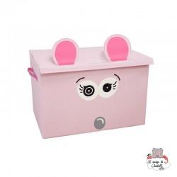 Coquelicos the mouse storage box - DEG-25923 - Les Déglingos - Children's furniture - Le Nuage de Charlotte