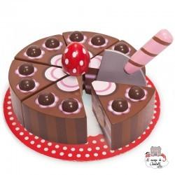Gâteau au Chocolat - LTV-TV277 - Le Toy Van - Magasin - Le Nuage de Charlotte