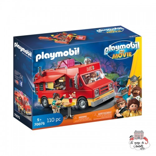 playmobil - The Movie Del's Food Truck - PLA-70075 - Playmobil - Playmobil - Le Nuage de Charlotte