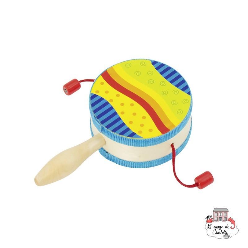 Faguo Percussion Demi-Lune Tambourin Musical Tambourin Cadeau De F/ête Jouet