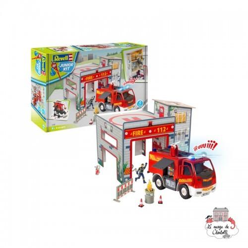 """Junior Kit - Playset """"Fire Station"""" - REV-00852 - Revell - Kit to assemble - Le Nuage de Charlotte"""
