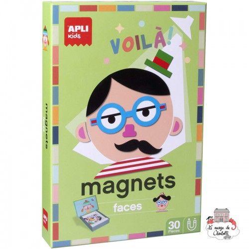 Magnets - Faces - APL-14561 - APLI - Education and Magnets - Le Nuage de Charlotte