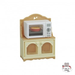 Microwave Cabinet - EPO-5443 - Epoch - Sylvanian Families - Le Nuage de Charlotte