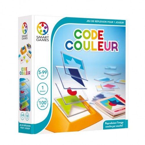 Colour Code - SMT0008 - Smart - Logic Games - Le Nuage de Charlotte