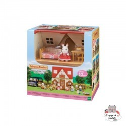 Red Roof Cosy Cottage Starter Home - EPO-5303 - Epoch - Sylvanian Families - Le Nuage de Charlotte