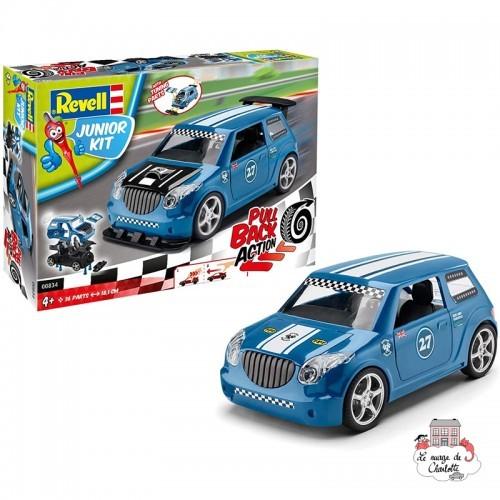Pull Back Rallye Car, blue - REV-00834 - Revell - Kit to assemble - Le Nuage de Charlotte