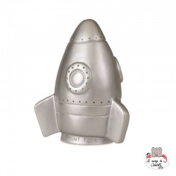 Lamp Rocket Silver - HEIC-360021SI - Heico - Night Lights - Le Nuage de Charlotte