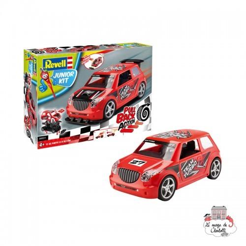 Pull Back Rallye Car, red - REV-00831 - Revell - Kit to assemble - Le Nuage de Charlotte