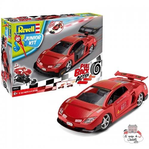 Pull Back Race Car, red - REV-00835 - Revell - Kit to assemble - Le Nuage de Charlotte