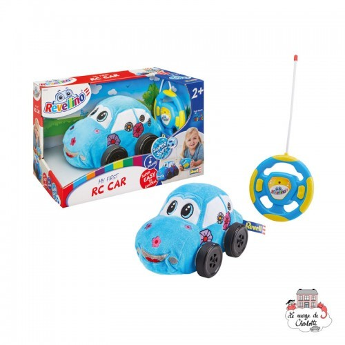 My first RC Flower Car Blue - REV-23202 - Revell - Remote Controlled Vehicles - Le Nuage de Charlotte