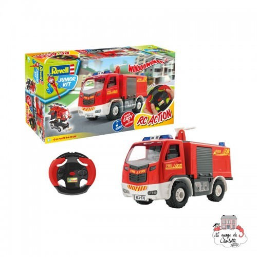 Junior Kit - Fire Truck RC - REV-00970 - Revell - Kit to assemble - Le Nuage de Charlotte