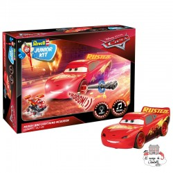 Junior Kit - Cars - Muddy RRC Lightning McQueen - REV-00864 - Revell - Kit to assemble - Le Nuage de Charlotte
