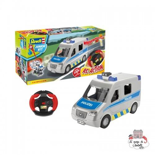 Junior Kit - Police Van RC - REV-00972 - Revell - Kit to assemble - Le Nuage de Charlotte