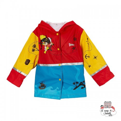 Pirate Raincoat T4 (104-110) - KOO-30010204 - Kiddidoo - Jackets - Le Nuage de Charlotte
