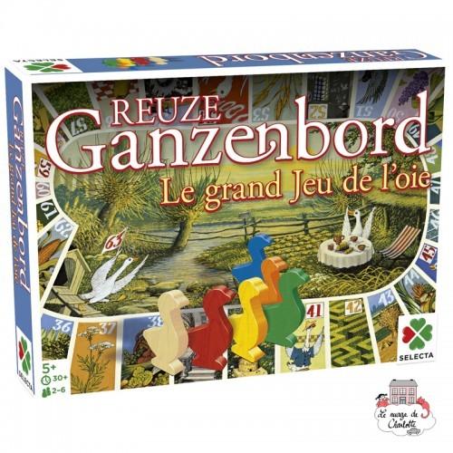 Le grand jeu de l'oie - SEL-54594 - Selecta - for the little ones - Le Nuage de Charlotte