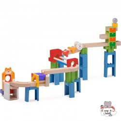 Trix Track - Circuit Chat & Souris - WWD-WW-7017 - Wonderworld - Marble Run and Games - Le Nuage de Charlotte