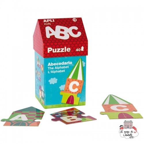 Puzzle House A, B, C - APL-14805 - APLI - For littles - Le Nuage de Charlotte