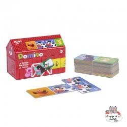 Domino Farm - APL-16493 - APLI - Board Games - Le Nuage de Charlotte