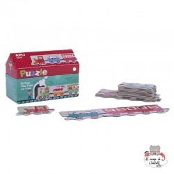 Puzzle Train - APL-16485 - APLI - For littles - Le Nuage de Charlotte