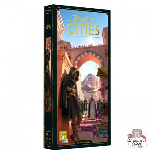7 Wonders - Ext. Cities - REP-6292139 - Repos Production - Board Games - Le Nuage de Charlotte