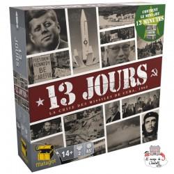 13 Jours - La Crise à Cuba & 13 Minutes - MAT-114139 - Matagot - Board Games - Le Nuage de Charlotte