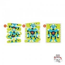 Robotics Lab Puzzle Sticks - MUD-9780735354005 - Mudpuppy - Puzzles - Le Nuage de Charlotte