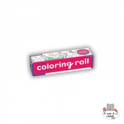 Mini Coloring Roll - Flower Garden - MUD-9780735348684 - Mudpuppy - Drawing and Coloring - Le Nuage de Charlotte
