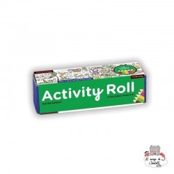 Activity Roll - Rainforest - MUD-9780735360204 - Mudpuppy - Drawing and Coloring - Le Nuage de Charlotte