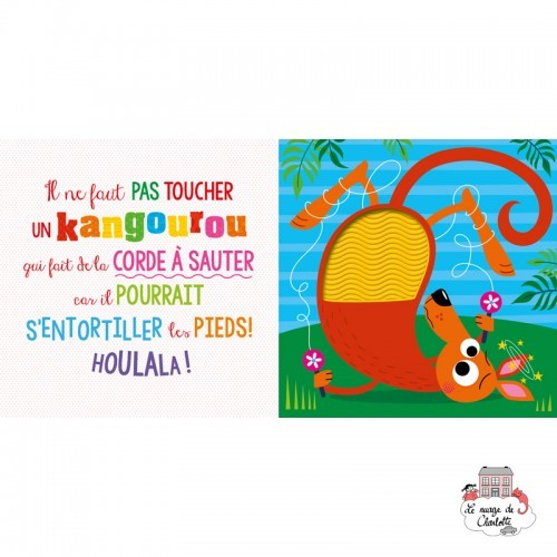 Il ne faut pas toucher un kangourou - 123-9782359906356 - Editions 123 Soleil - Preschool - Le Nuage de Charlotte