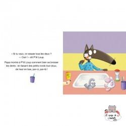 P'tit Loup se brosse les dents - AUZ-9782733888728 - Editions Auzou - Preschool - Le Nuage de Charlotte