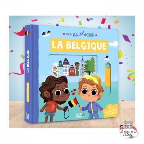 Mon Anim'agier - La Belgique - AUZ-9782733891612 - Editions Auzou - Imagiers / Éveil - Le Nuage de Charlotte