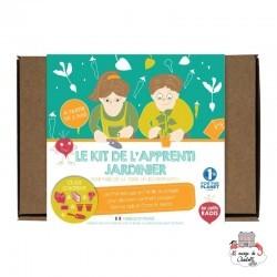 Kit de l'apprenti jardinier - LPR-K003 - Les Petits Radis - Nature et découvertes - Le Nuage de Charlotte